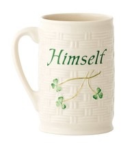 "Belleek Himself Mug, 4.5"" - $31.54"