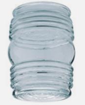 "Westinghouse LAMP SHADE Jelly Jar Shape Clear Glass Retro 4.5"" H 1 pk 85... - $14.42"
