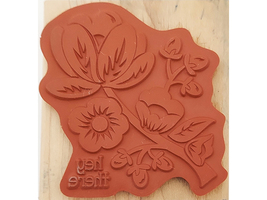 Stampin' Up! Hey There Buds Mounted Rubber Stamp #134357 image 2