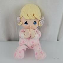Precious Moments Prayer Pal Girl Doll Pink Pajamas Pray Non-working Luv ... - $15.83
