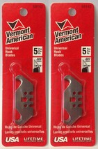 Vermont American 59142 Universal Hook Blades 2 Packs of 5 USA - $3.47