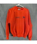 Just Australian Made in Australia Orange Crew Neck Sweatshirt Men's Size XL - $14.84