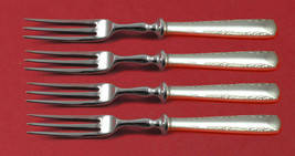 "Camellia by Gorham Sterling Silver Fruit Fork Set 4-Piece HHWS 6"" Custom - $279.00"