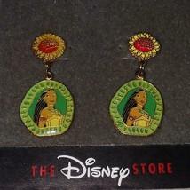 Disney Pocahontas Sunflower Enamel Dangle EARRINGS**RARE!**NEW!**1 Left!!! - $27.99