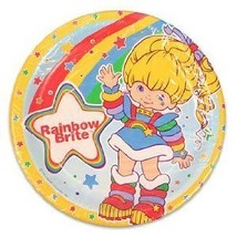 Rainbow Brite Luncheon Paper Party Plates (8 Count) - $14.80