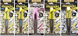 L'Oreal Paris Voluminous Miss Manga Mascara (CHOOSE YOUR COLOR) - $4.22