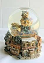 BOYDS BEARS~ 1997 Collector's Snow Globe-Music Box *My Favorite Things*  - $21.78