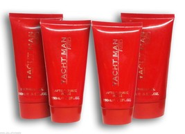 Myrurgia Yacht Man Men's Shower Gel After Shave Balm Red French Brand Lot of 4 - $15.88