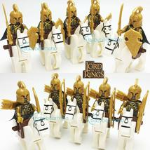 The Lord Of The Rings Cavalry Noldor Elf Warriors Elves Army Custom Minifigures - $23.99