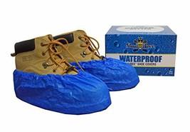 ShuBee Waterproof Shoe Covers, Light Blue 40 Pair