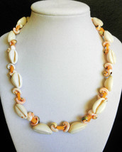 """17 1/2"""" genuine shell necklace - $50.00"""