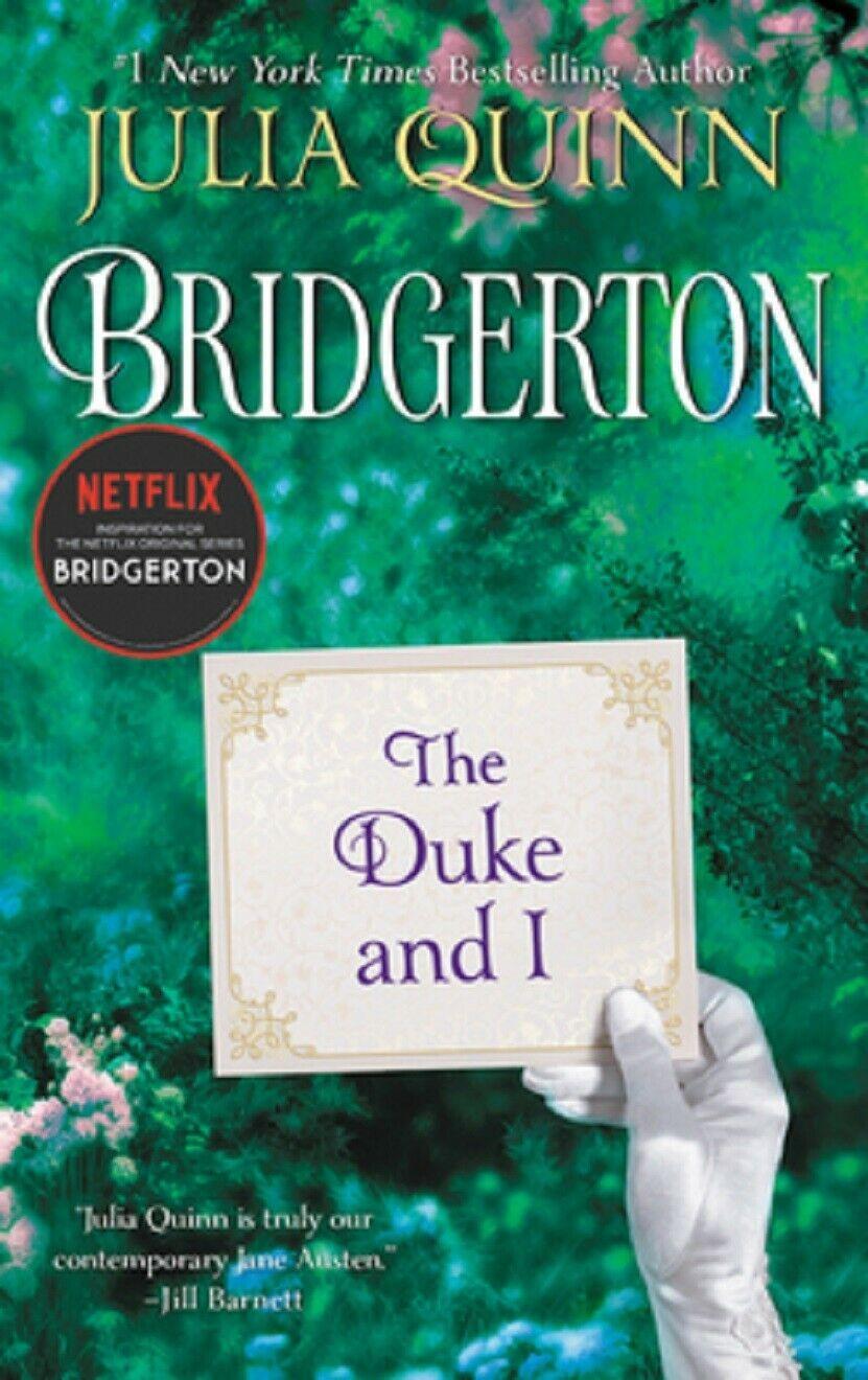 Bridgerton Series - Books 1 to 9 - Paperbacks  (9 Books) - By Julia Quinn