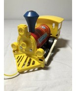 Vtg 1964 Fisher Price Toot Toot Train Engine Pull Along Toy #643 Wood Ma... - $9.74