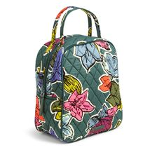 Vera Bradley Quilted Signature Cotton Lunch Bunch Bag, Falling Leaves
