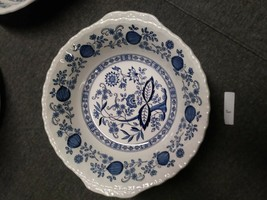"8 1/2"" Serving Bowl Enoch Wedgwood Tunstall Blue Heritage EUC - $19.79"