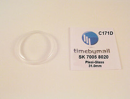 New Watch Crystal For SEIKO 7005 8020 Automatic Plexi-Glass New Spare Pa... - $18.60