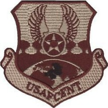 Usaf Air Force Usafcent Embroidered Military Authentic Desert Patch - $18.04