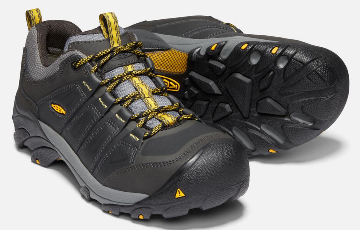 Keen Boulder Bas Taille US 11.5 M (D) Eu 45 Homme Wp Acier Orteil Travail Shoes