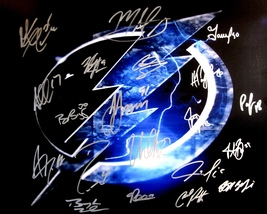 2015 T.B. Lightning Team Autographed Signed 16X20 Photo Coa Stanley Cup Kucherov - $199.99