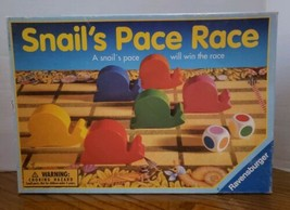 Snails Pace Race Board Game Ravensburger Vintage Rare  - Complete - $24.99