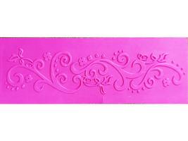 Darice Floral Flourish Border Embossing Folder, Great for Cards!