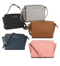 MICHAEL KORS Selma Medium Messenger Shoulder Bag for Woman with Free Gift  - $176.00