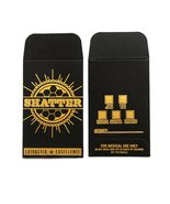 Original Black Gold Shatter Wax Extract Coin Fo... - $186.19