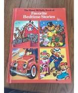 vintage The Rand McNally Book of Favorite Stories Hardcover Ships N 24h - $64.00