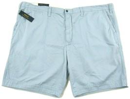 NWT Polo Ralph Lauren Classic Fit Flat Front Hampton Blue Mens Shorts Big & Tall - $49.95
