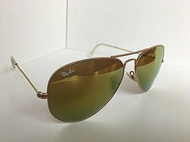 d71c55429 Ray-Ban RB 3025 RB3025 112/93 58mm Aviator Large Metal Gold Sunglasses -