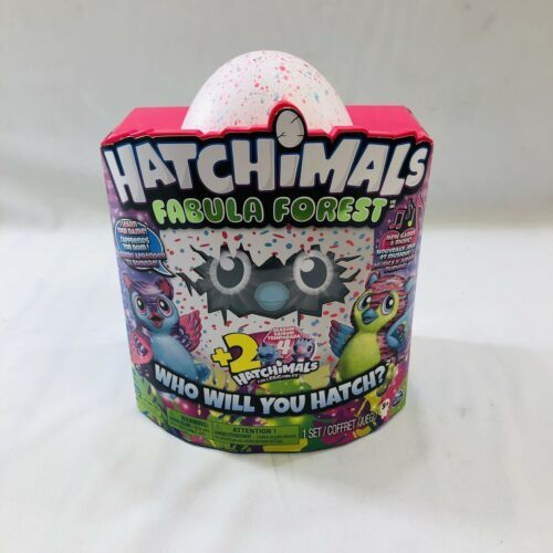 *NEW* Hatchimals Fabula Forest Hatching Egg + 2 Bonus Colleggtibles