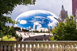"Chicago Bean ""Sky Gate""  North Side     2.5 x 3.5  Fridge MAGNET - $3.99"