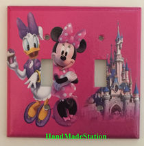 Minnie Mouse Daisy Cup Cake Light Switch Power Outlet Wall Cover Plate decor image 5