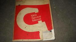 1969 Dodge Polara Monaco Service Repair Workshop Shop Manual OEM Factory - $19.79