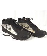 Nike MCS Threat 3/4 Baseball Cleats 115193 001 Mens Size US 10 - L@@K !!! - $25.00