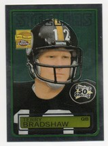 2002 Topps Chrome Reprints #13 Terry Bradshaw Pittsburgh Steelers - $1.99
