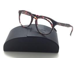 Prada NEW Authentic  VPR 13S UBO-1O1 Brown Havana/Violet RX Eyeglasses 50mm - $96.97