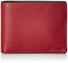 Calvin Klein CK Men's Genuine Leather ID Window Bifold Wallet 79813 image 10
