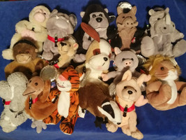 Coca Cola Lot of 15 International Collection Beanie Stuffed Animals w/ Tags - $37.00