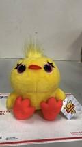 "Disney Pixar Toy Story 4 Ducky Huggable Plush Approximately 10"" Yellow D... - $9.89"