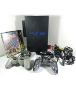 Sony PlayStation 2 PS2 SCPH-50001/N Console Bundle w/ Controllers, Cords... - $108.85