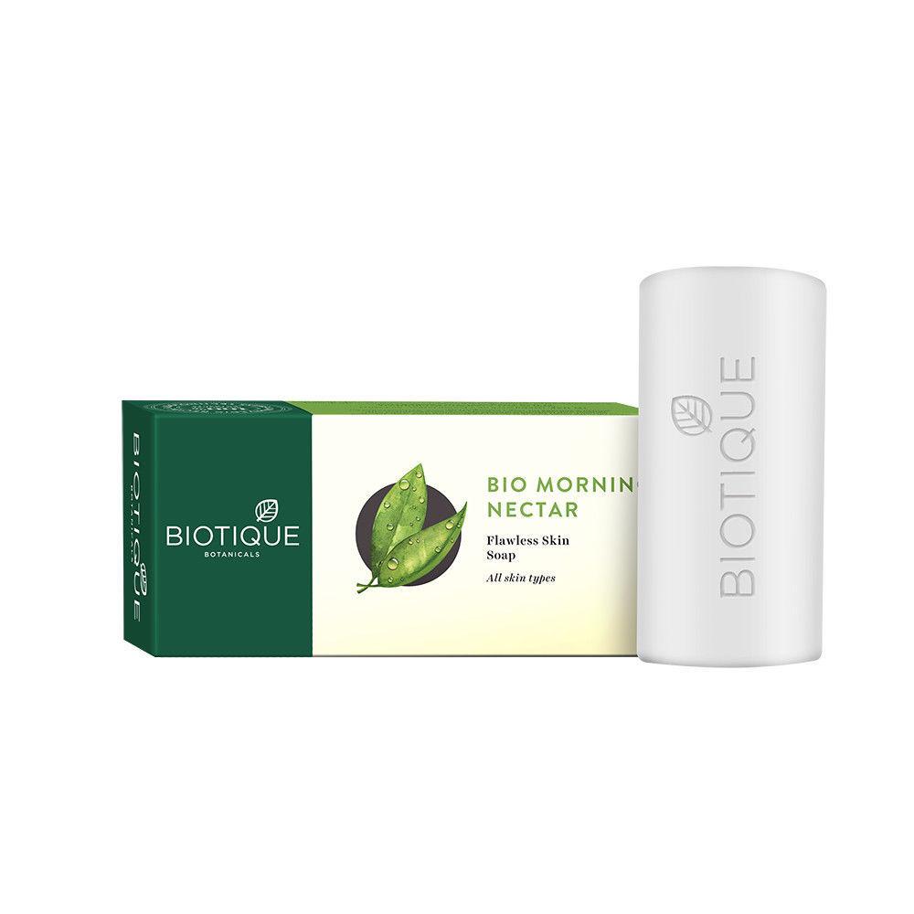 Biotique BIO MORNING NECTAR SKIN SOAP FLAWLESS SKIN SOAP 75 gms  & 150 gms
