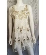 Alexis Leroy Women's Sexy Ladies Sleeveless  Short Evening Dress Silver/... - $36.03