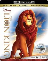 Disney The Lion King (4K Ultra HD+Blu-ray+Digital)