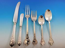 William & Mary by CJ Vander Sterling Silver Flatware Service 8 Set 52 pcs Dinner - $7,995.00