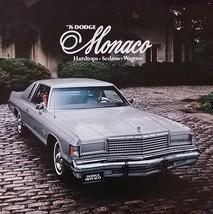 1976 Dodge MONACO sales brochure catalog US 76 Royal Brougham - $6.00