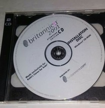 Britannica 2001 Standard Edition CD ROM - Windows - Vintage Software DISC - $31.42
