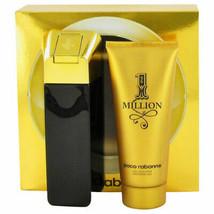 Paco Rabanne 1 Million Cologne 3.4 Oz Eau De Toilette Spray 2 Pcs Gift Set image 6