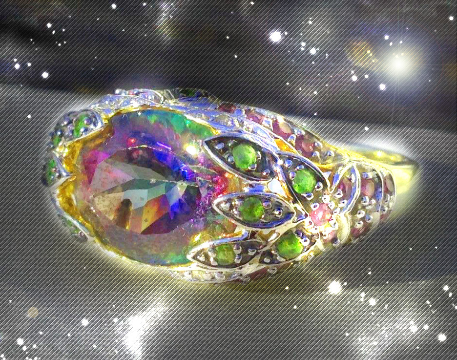 Primary image for HAUNTED ORNATE RING ALL ALEXANDRIA'S ANGELS SURROUND YOU EXTREME OOAK MAGICK