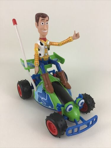 Primary image for Disney Toy Story 2 Interactive Adventure Buddies RC Buggy Sheriff Woody Thinkway